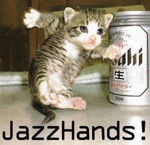 Funny Dancing Kitten Picture